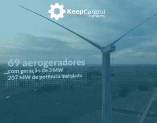 gestão de documentos GED do maior parque eólico do País